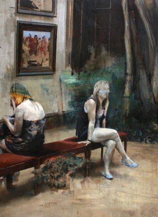 Almost-Tolstoï-2014-oil-on-canvas-210x140cm