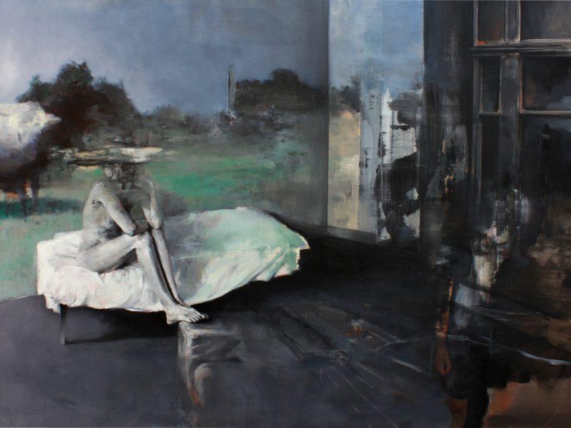 Green-Room-2013-huile-sur-toile-130x97cm